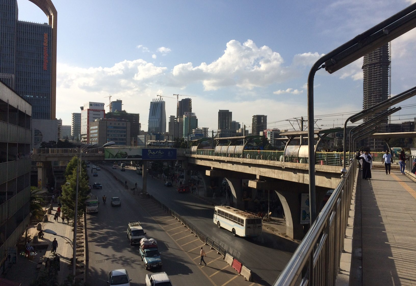 Downtown Addis Abeba